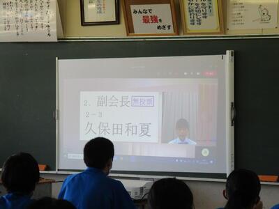 教室の風景です。